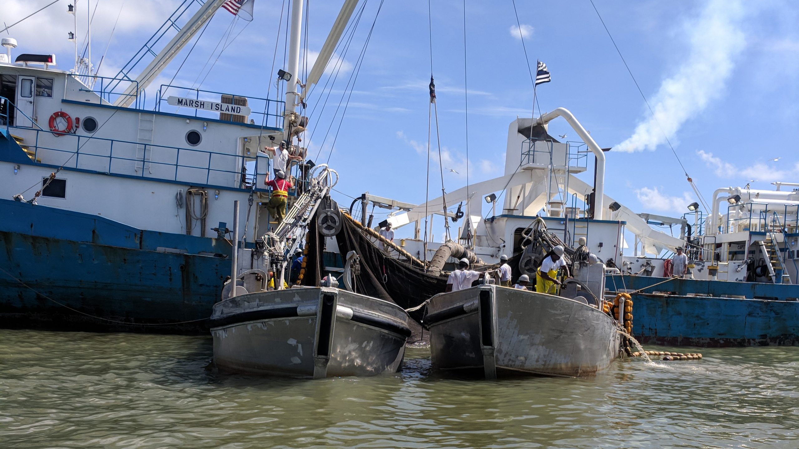 Local Louisiana Fishermen Up Against Big Foreign Business